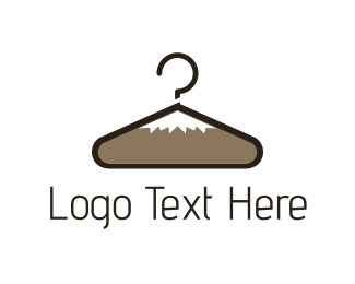 Laundry - Peak Hanger logo design