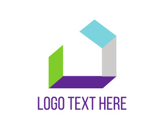 Design Agency - Abstract House  logo design