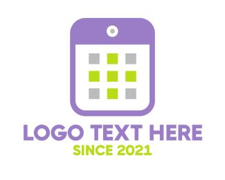 Call - Violet Smartphone logo design