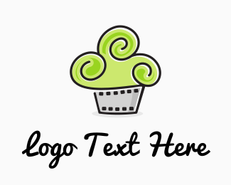 Design - Cinema Cupcake logo design