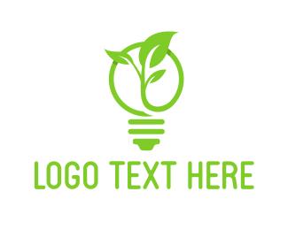 Innovate - Eco Light logo design