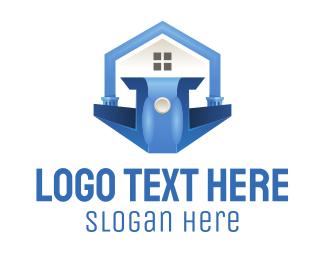 Politics - Blue Podium logo design