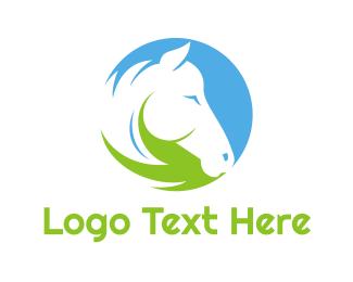 Equine - Equestrian Circle logo design