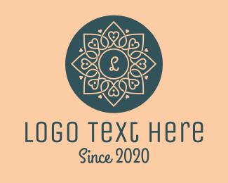 Wordpress - Heart Flower logo design