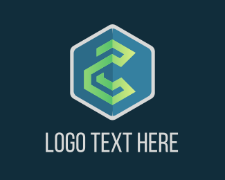 Hexagonal - Tech Hexagon logo design