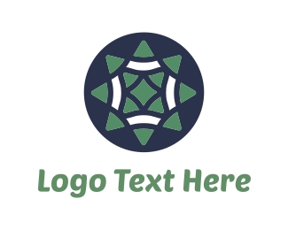 Herbal - Green Star logo design