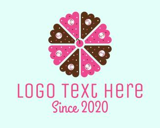 Patisserie - Flower Cake logo design