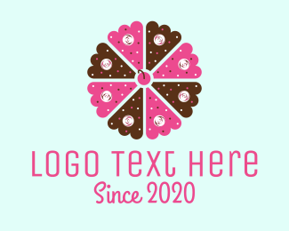 Patisserie - Flower Cake logo design