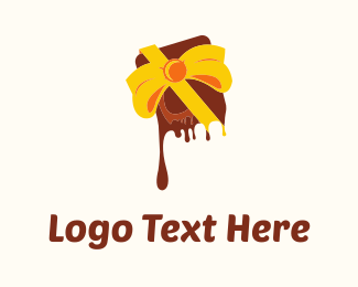Candy - Chocolate Gift logo design