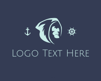 Captain - Nordic Sailor logo design