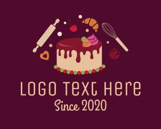 Cake Shop - Sweet Bakery Cake logo design