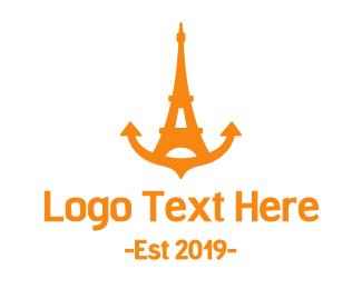 Anchor - Anchor Tower  logo design