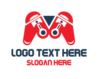 Recreation - Automotive Game logo design