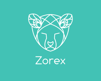 Brand - Geometric Animal logo design