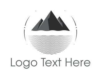 Sea - Black Mountain & Sea logo design