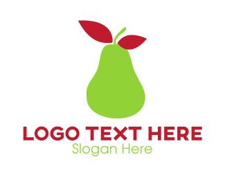 Market - Green Pear logo design
