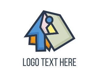 Store - Abstract Bird Shop logo design