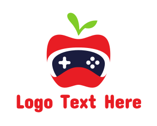 Xbox - Red Apple Gaming logo design