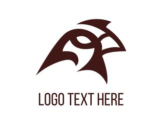 Sparrow - Red Sparrow logo design