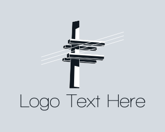 Electric - Electric Lighting logo design