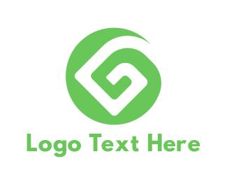 Pattern - Green G Pattern logo design