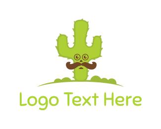 Desert - Mister Cactus logo design