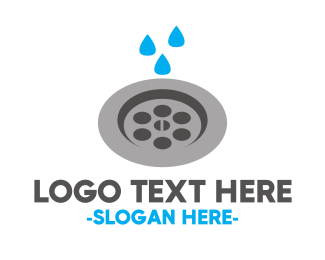 House Cleaning - Plumbing & Drain logo design