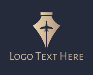 Biography - Royal Pen Jet logo design