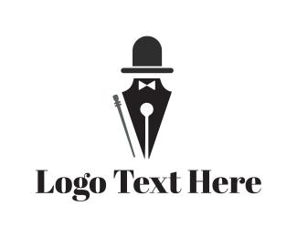 Calligraphy - Elegant Pen logo design