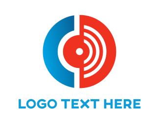 Listen - Radio Point logo design