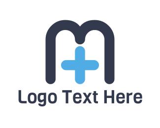 """Medical Letter M"" by SimplePixelSL"