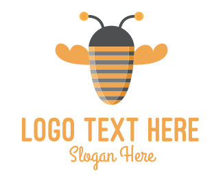 Muscle - Bee Strong logo design
