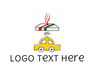 Vehicle - Pizza Delivery logo design