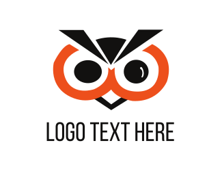 Chick - Black Owl logo design