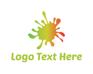 Splash - Colorful Paint logo design