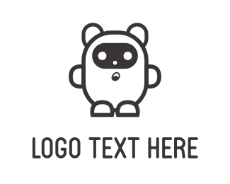 Costume - White Bear logo design