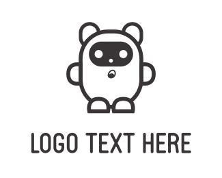 Costume - White Bear logo design