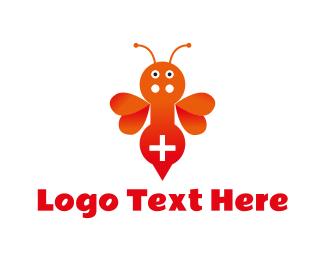 Gamestick - Gamer Bee logo design