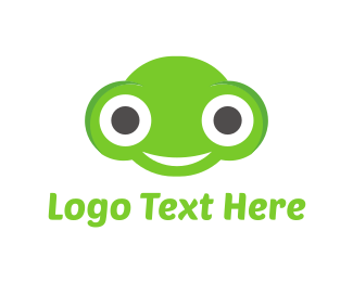 Frog - Happy Frog logo design