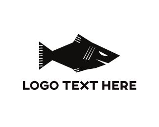 Furious - Angry Fish logo design