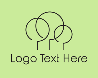 Yard - Minimalist Forest logo design