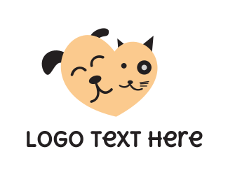 Pet - Lovely Pets logo design