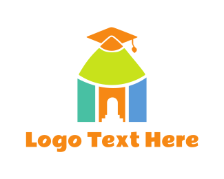 Learn - Preschool Graduation logo design