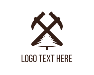 Construction Company - Carpentry Tools logo design