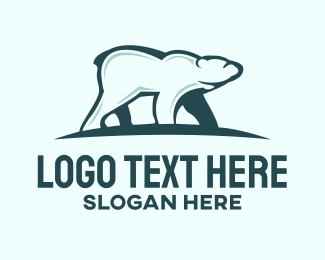 Bear - Polar Bear  logo design