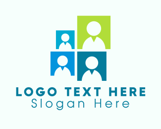 Human Resources - Office Team logo design