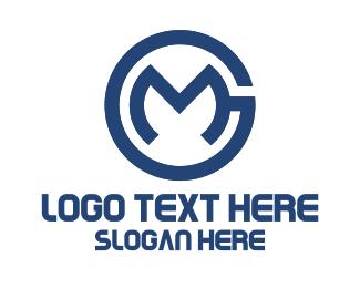 Modern - G & M logo design