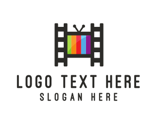 Broadcasting - Home Theater logo design