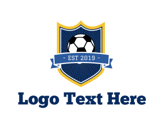 Ball - Soccer Ball logo design
