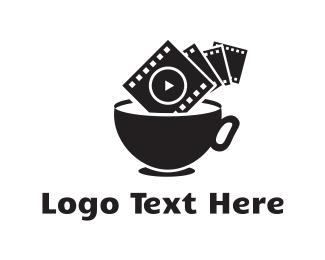 Tv - Film Cup logo design